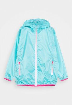 FALTBAR - Waterproof jacket - türkis