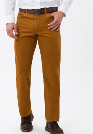 STYLE CARLOS - Straight leg jeans - sand