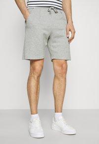 Lindbergh - PIGMENT DYED - Shorts - light grey - 0