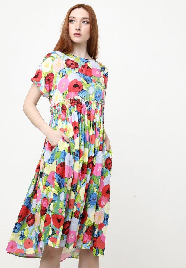 OFELIA - Robe d'été - blau rot