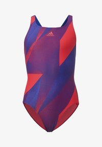 adidas Performance - GIRLS GRAPHIC SWIMSUIT - Maillot de bain - pink - 0