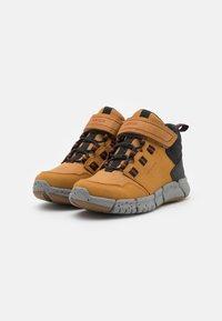 Geox - FLEXYPER BOY ABX - Classic ankle boots - dark yellow/black - 1