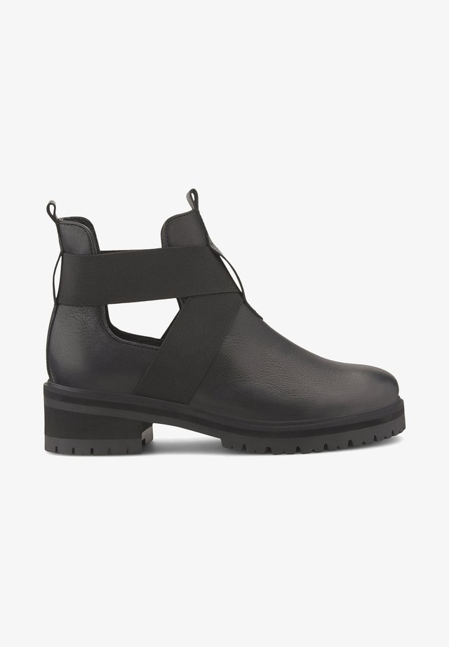 CUT-OUT - Ankle boots - schwarz