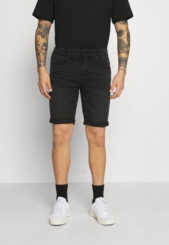 ONSPLY LIFE NOOS - Denim shorts - black denim