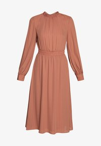 VIGALYA DRESS - Day dress - copper brown