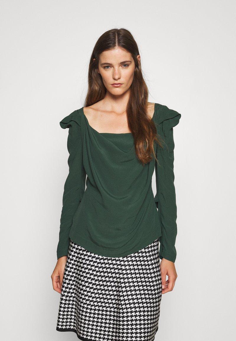 Vivienne Westwood - ELIZABETH - Long sleeved top - green