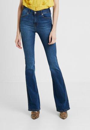 SONIQ - Bootcut jeans - atlantic deep blue