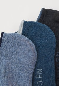 Calvin Klein Underwear - MENS NO SHOW ATHLEISURE GRANT 3 PACK - Calze - blue/light blue - 1
