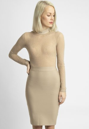 Vestido de cóctel - beige