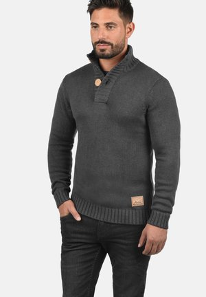 PETER - Jumper - dark grey