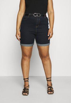PLUS - Denim shorts - vintage indigo