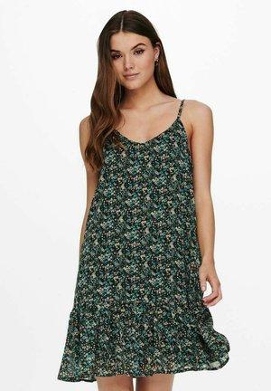 Day dress - balsam green