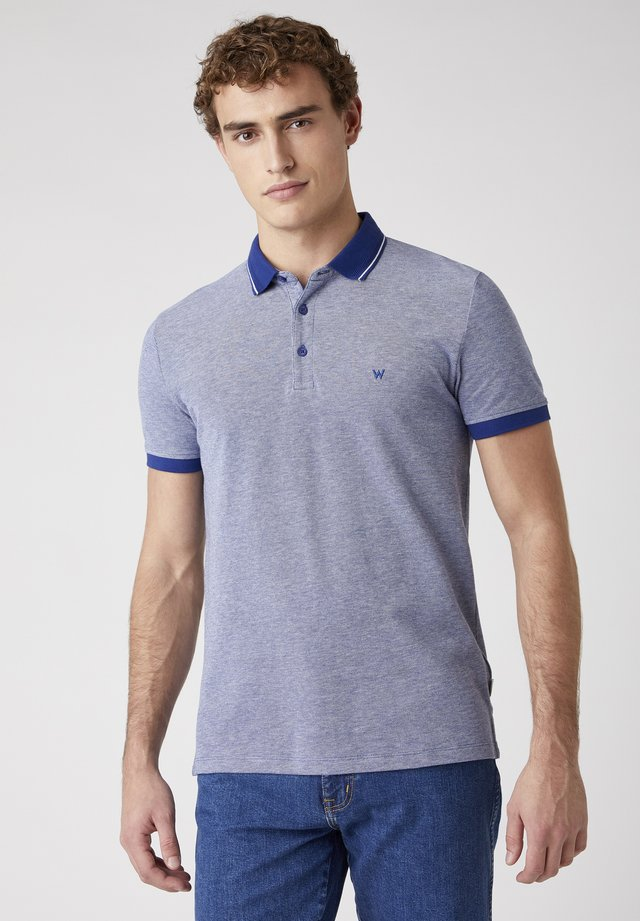 REFINED - Polo - twilight blue