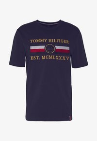 Tommy Hilfiger - ICON  - Print T-shirt - blue - 4