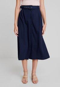 mint&berry - A-snit nederdel/ A-formede nederdele - navy - 0