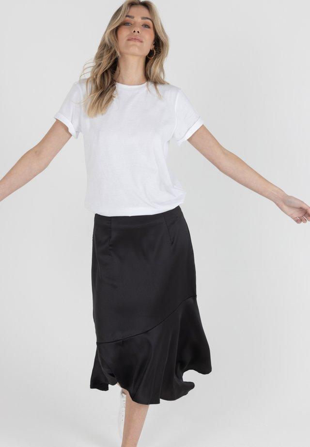 DANA - A-line skirt - schwarz