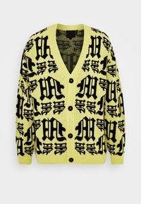 Mennace - GOTHIC CARDIGAN - Cardigan - yellow - 4