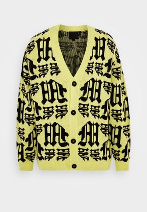 GOTHIC CARDIGAN - Gilet - yellow