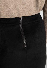 ONLY - ONLJULIE BONDED  - Pencil skirt - black - 4