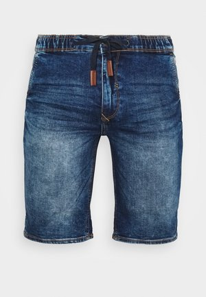 Jeans Short / cowboy shorts - denim middle blue