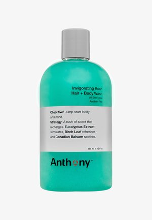 INVIGORATING RUSH HAIR & BODY WASH 355ML - Shampoo - -