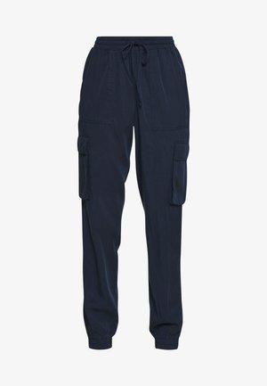 SOFT UTILITY TRACK PANTS - Broek - real navy blue