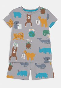 Marks & Spencer London - BOAT UNISEX - Pyjama set - grey - 0