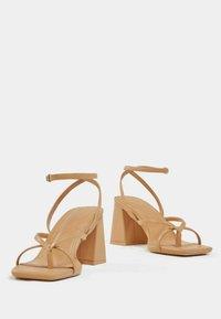 Bershka - Sandals - brown - 4