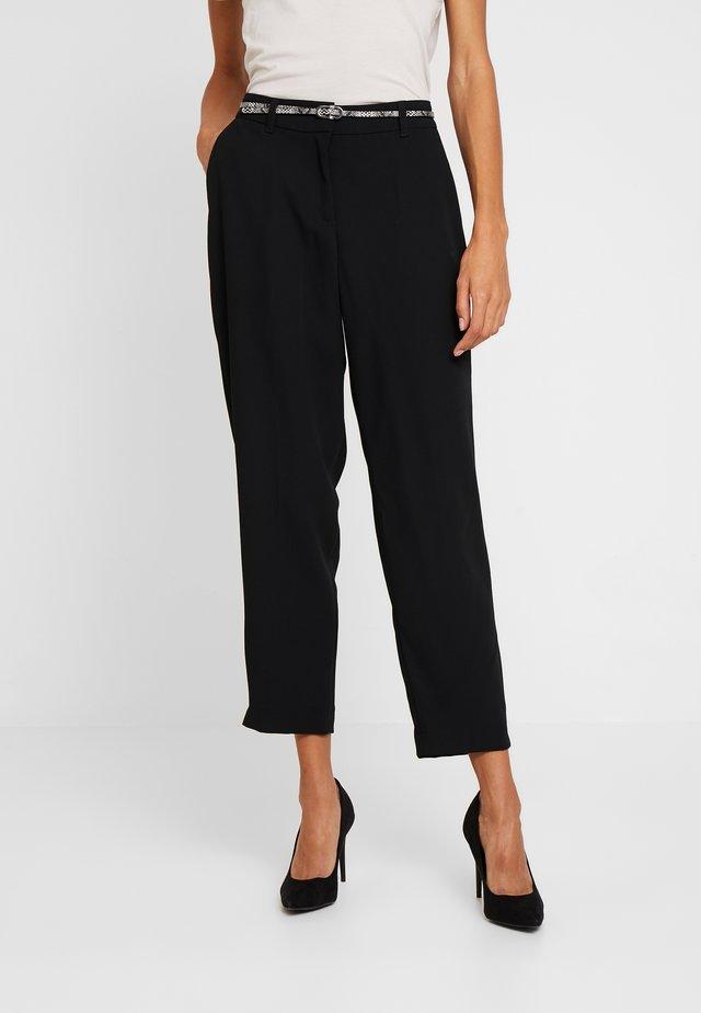Pantalon classique - forever black