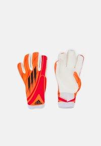 adidas Performance - UNISEX - Maalivahdin hanskat - solar red/black/red/white - 0