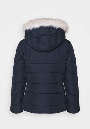 SHORT LENGTH HOODED COAT - Winter jacket - navy