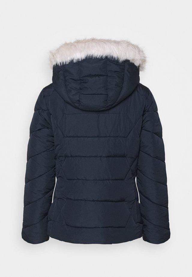SHORT LENGTH HOODED COAT - Veste d'hiver - navy