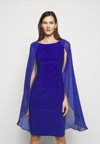 Lauren Ralph Lauren - CLASSIC DRESS COMBO - Cocktail dress / Party dress - french ultramarin - 0