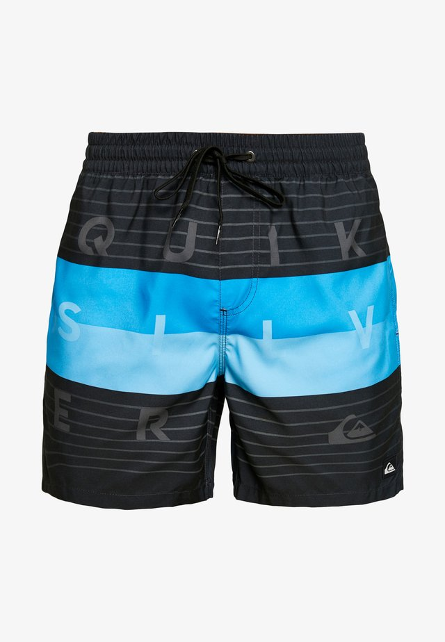 WORD BLOCK VOLLEY 17 - Swimming shorts - black