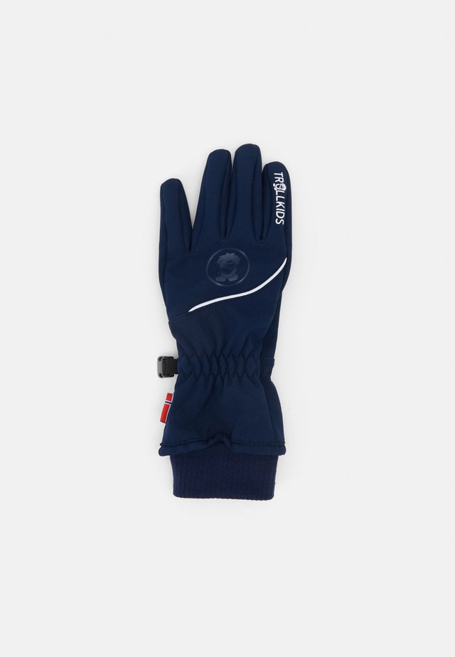 KIDS TROLLTUNGA GLOVE UNISEX - Gants - navy