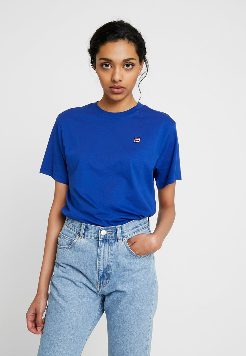 Fila Tall - NOVA TEE - Basic T-shirt - sodalite blue