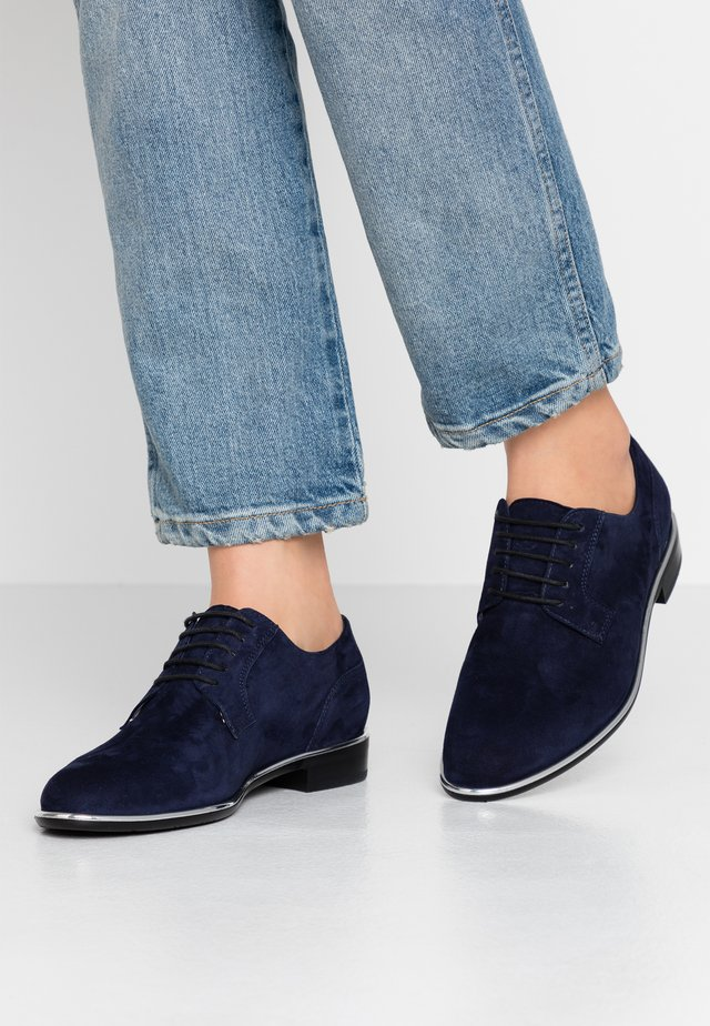 HANNY - Lace-ups - notte/silber