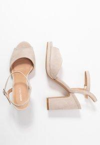 Anna Field - High heeled sandals - taupe - 3