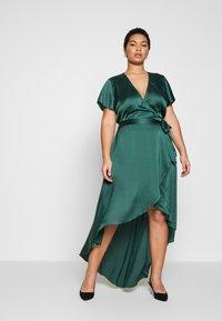 Missguided Plus - Vestito lungo - green - 0