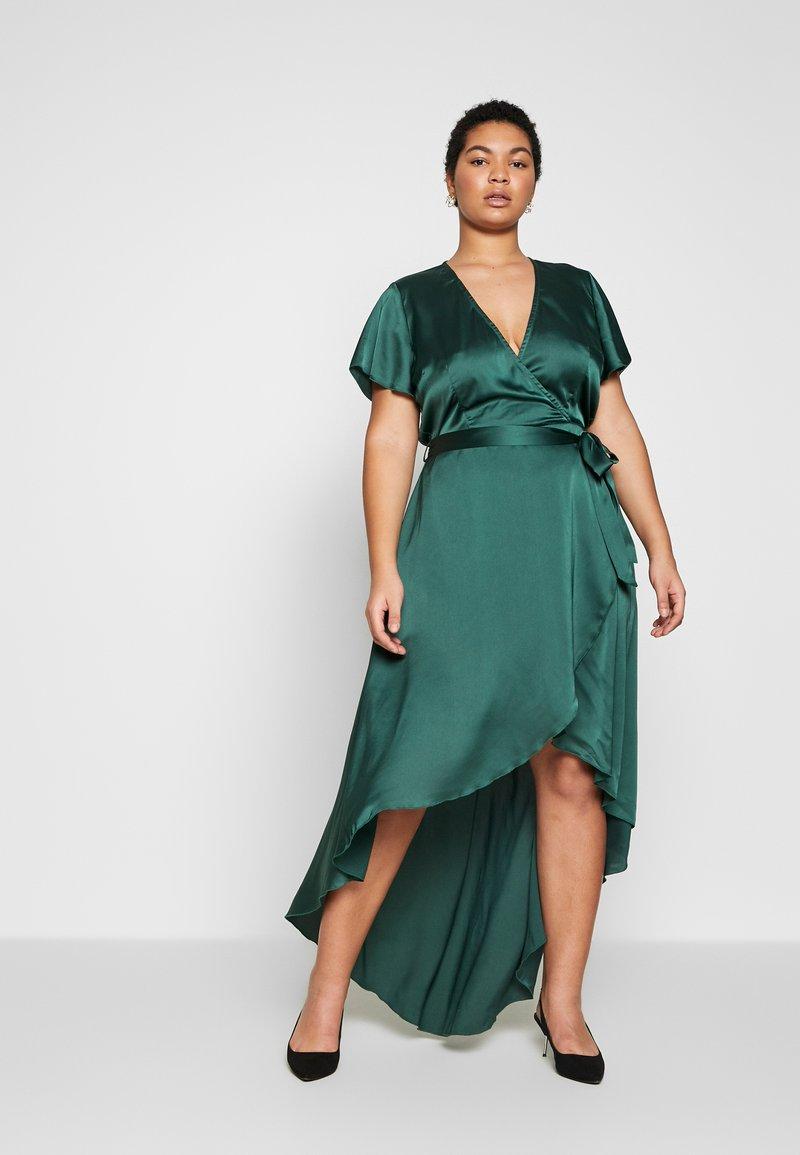 Missguided Plus - Vestito lungo - green