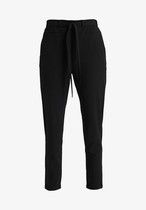 JILLIAN BELT PANT - Bukse - black deep