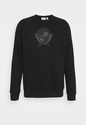 COLLEGIATE CREST - Sweatshirt - black