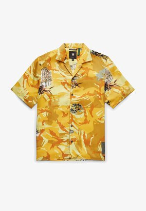 Shirt - yellow hawaiian dutch camo