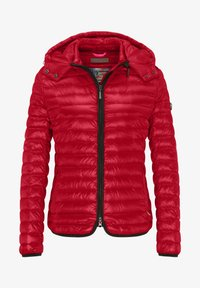 Frieda & Freddies - DAUNENJACKE NELLY II MIT ABNEHMBARER KAPUZE - Down jacket - cherry red - 5