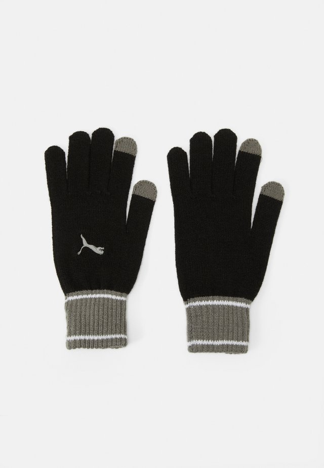 GLOVES - Rukavice - black/ultra gray