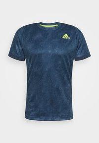 adidas Performance - TEE  - Print T-shirt - blue - 6