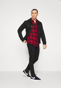 Denim Project - CHECK - Shirt - red - 2