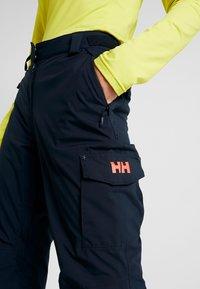 Helly Hansen - SWITCH CARGO 2.0 PANT - Skibukser - navy - 4