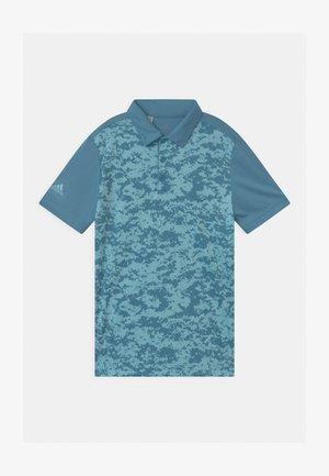 DIGITAL CAMO UNISEX - Polo shirt - hazy blue