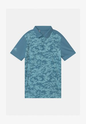 DIGITAL CAMO UNISEX - Koszulka polo - hazy blue